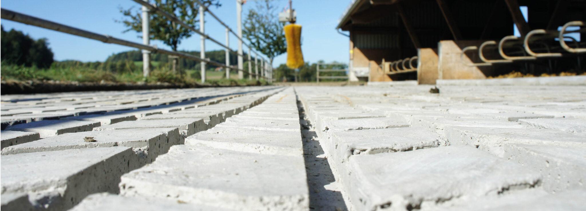 Willisauer Rillenboden mit Entwässerung